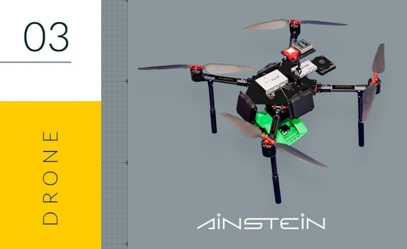 high precision agriculture drones by Ainstein drones for vineyards