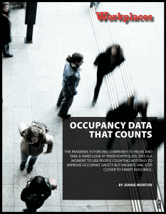 Post Pandemic Occupancy Counting